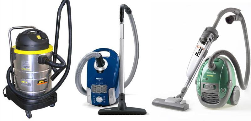 Хозяйственные пылесосы - 5 популярных производителей